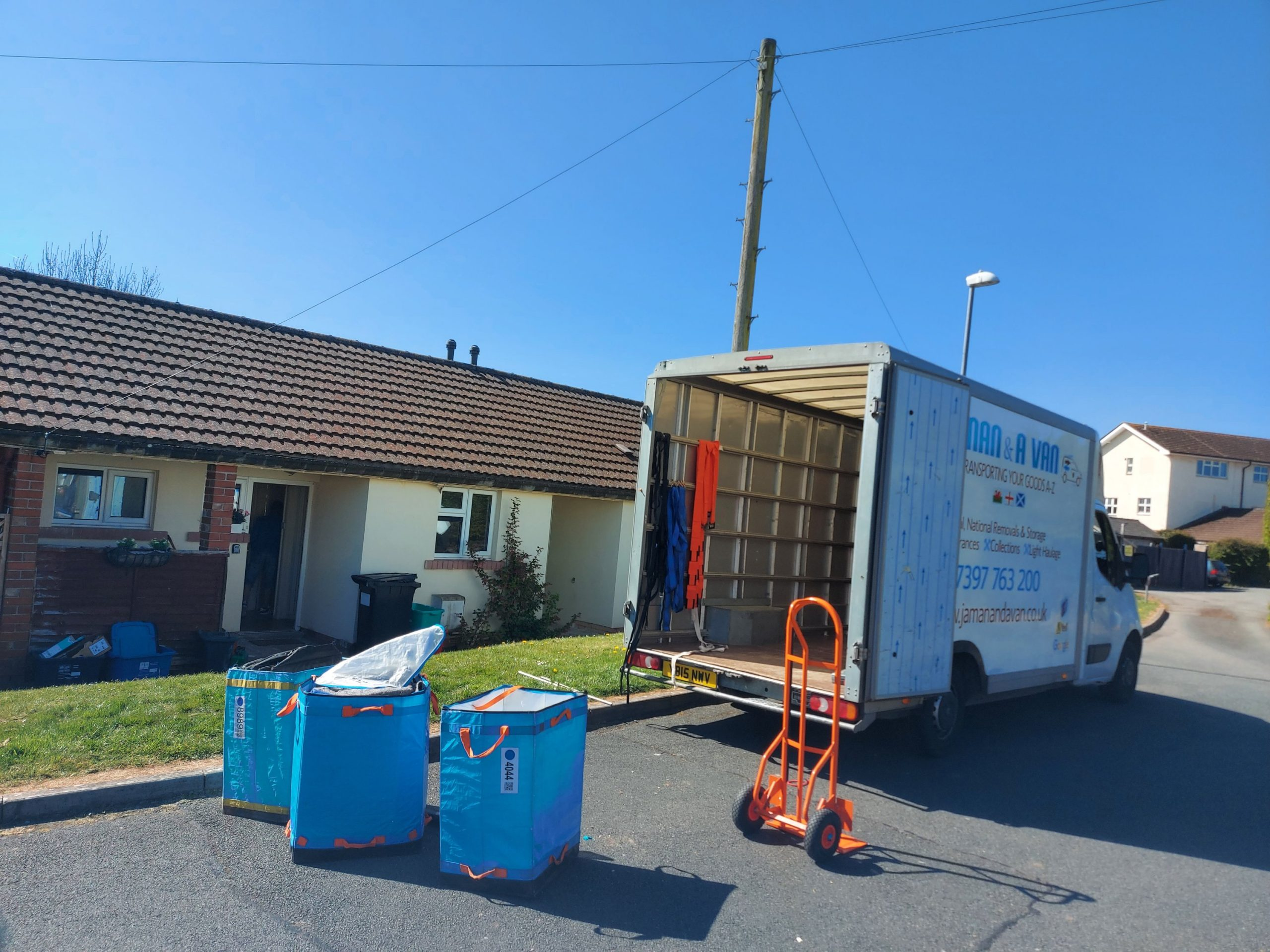 JA Man and Van House Removal Brecon