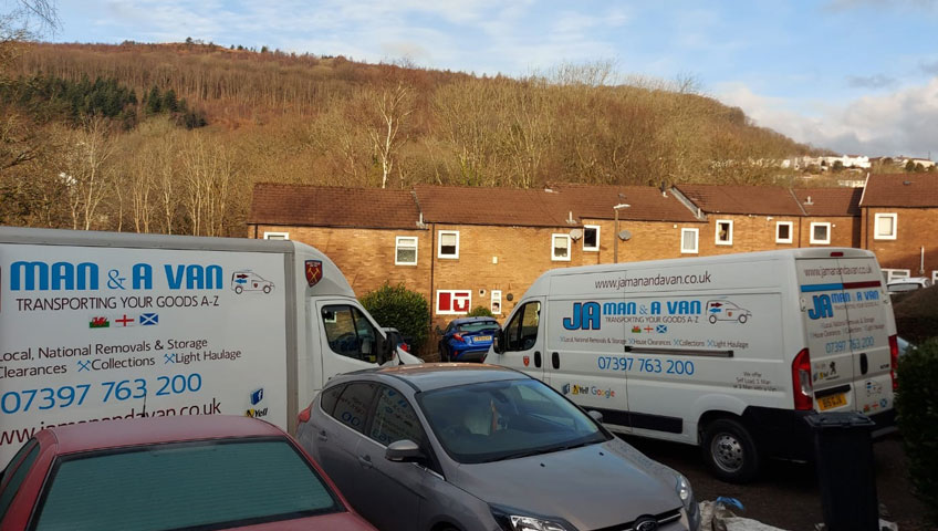 Aberdulais to Neath Man with and Van Removals Service